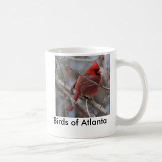 bird3, pájaros de Atlanta Taza Básica Blanca