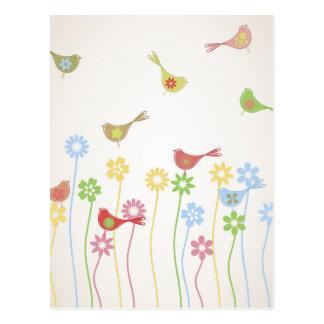 bird3 tarjetas postales