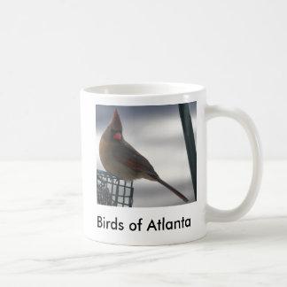 bird5, pájaros de Atlanta Taza Básica Blanca