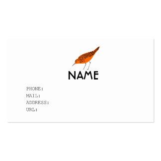 BIRD ビジネスカードテンプレート