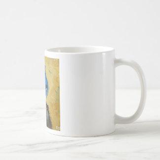 Bird#39 bluejay coffee mug