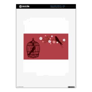 bird #3 decals for iPad 2