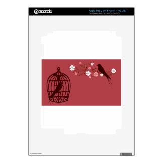 bird #3 iPad 3 decal