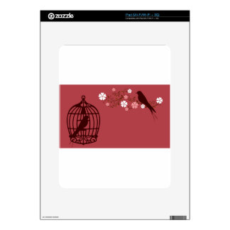 bird #3 iPad skins
