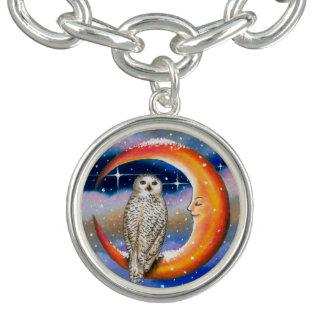 Bird 69 Owl Charm Bracelets