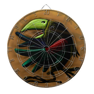 bird-9870-tropical-exotic-funny-parrot-macaw dartboard
