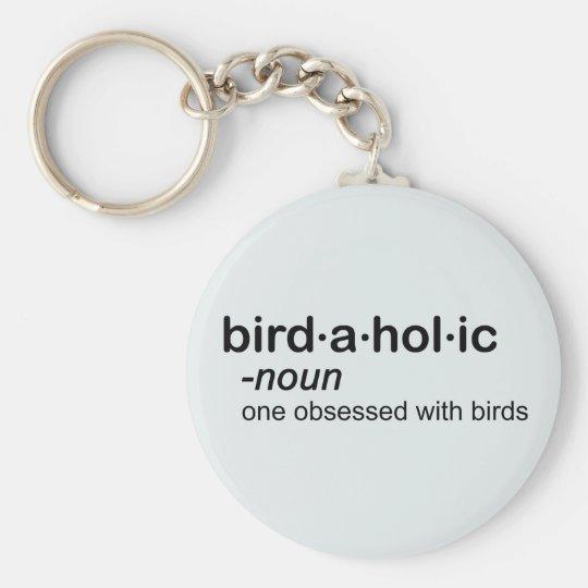 bird a hol ic keychain