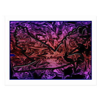 Bird Abstract Products Postcard