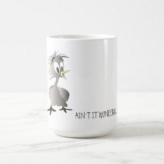 Bird-ain´t it wonderful! coffee mug