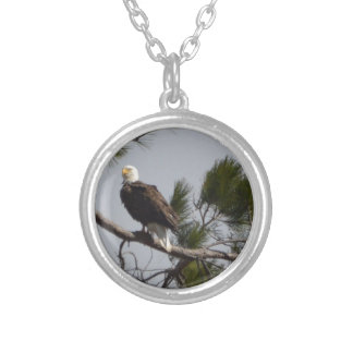 Bird American Bald Eagle Nature Personalized Necklace