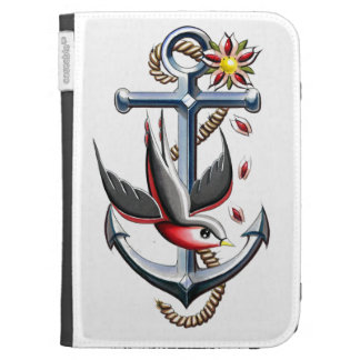 Bird and Anchor Tattoo Art Kindle Cover