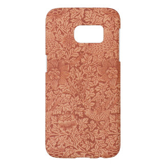 Bird and Anemone by William Morris, Vintage Nature Samsung Galaxy S7 Case