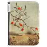 Bird And Berries Kindle Case