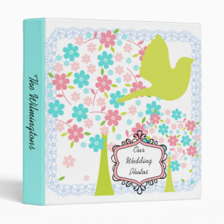 Bird and Blossoming Trees Photo Binder