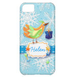 Bird and gift, iPhone case Cover For iPhone 5C