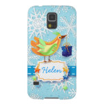 Bird and gift, Samsung case Galaxy S5 Cases