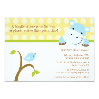 baby bird invitations  announcements  zazzle, Baby shower invitations