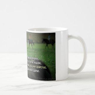 Bird and Horse Mug-You Are Special Coffee Mug