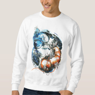 bird and koi sweatshirt