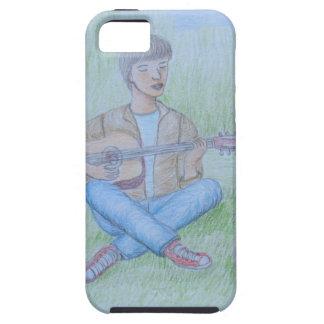 bird and man singing iPhone SE/5/5s case