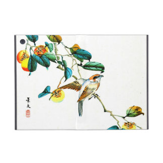 Bird and Persimmons 1892 Cover For iPad Mini