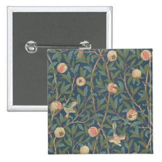 'Bird and Pomegranate' Wallpaper Design, printed b Button