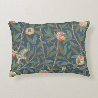 'Bird and Pomegranate' Wallpaper Design, printed b Decorative Pillow