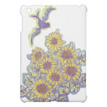 Bird and Sunflowers, icase iPad Mini Cover