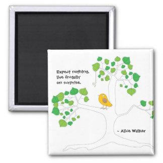 Bird and Tree Magnet