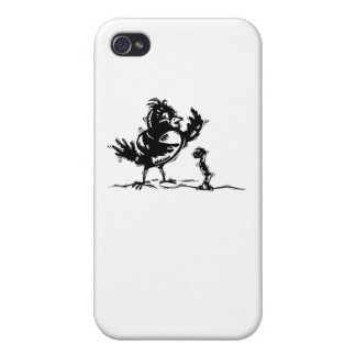 Bird And Worm iPhone 4/4S Cover