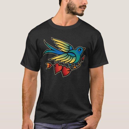 Bird Arrow and Hearts T-Shirt
