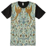 Bird Art 1 All-Over Print T-shirt