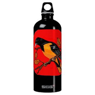 bird art bold read and black detailed SIGG traveler 1.0L water bottle
