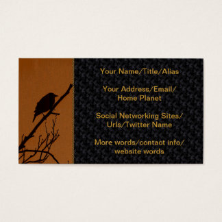 Bird Art Business Card