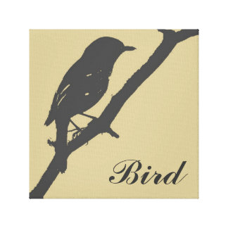 Bird art canvas print