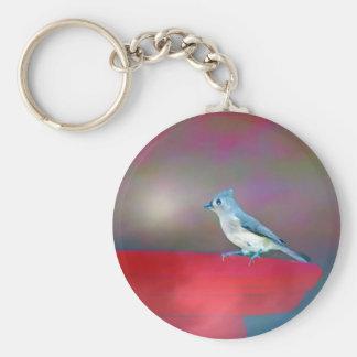 Bird Art Keychain