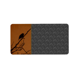 Bird Art Label