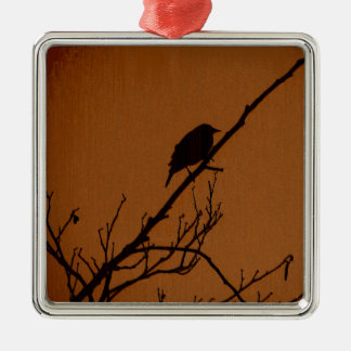 Bird Art Metal Ornament