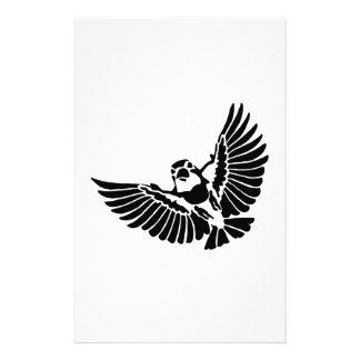 Bird Art Silhouette Stationery