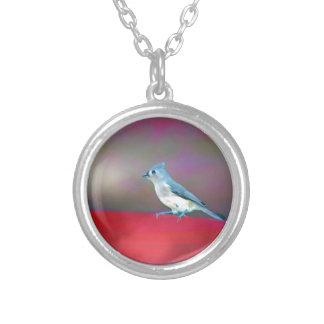 Bird Art Silver Plated Necklace
