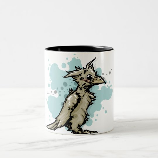 Bird Art! Two-Tone Coffee Mug