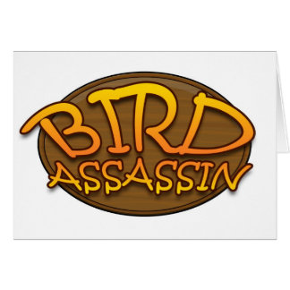 Bird Assassin Logo Card
