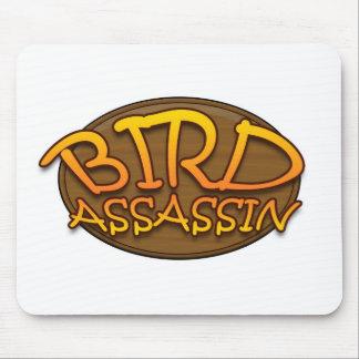 Bird Assassin Logo Mouse Pad