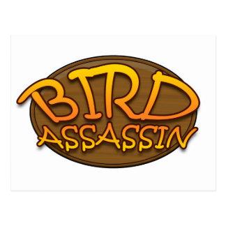 Bird Assassin Logo Postcard