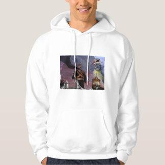 Bird attack hoodie