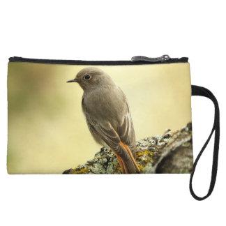 bird wristlet purse