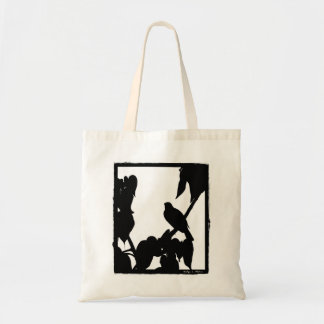 Bird Budget Tote Bag