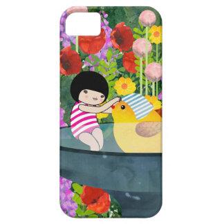 Bird bath iPhone SE/5/5s case