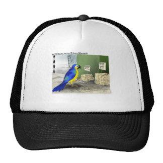 Bird Bathroom Fixtures Funny Gifts & Tees Trucker Hat