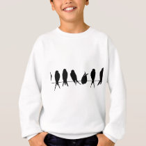 bird beautiful pattern fashion style rich looks sweatshirt